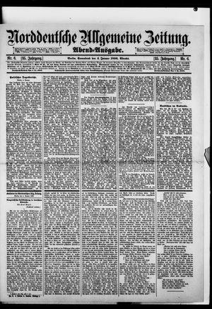 Norddeutsche allgemeine Zeitung vom 04.01.1896