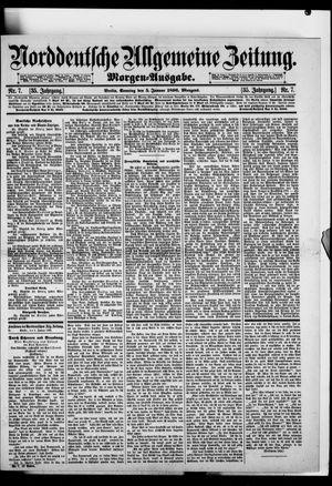 Norddeutsche allgemeine Zeitung vom 05.01.1896