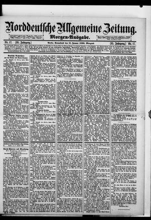 Norddeutsche allgemeine Zeitung vom 11.01.1896