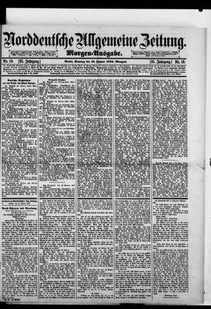 Norddeutsche allgemeine Zeitung vom 12.01.1896