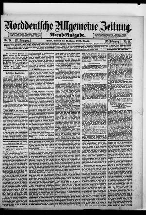 Norddeutsche allgemeine Zeitung vom 15.01.1896