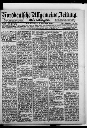 Norddeutsche allgemeine Zeitung vom 16.01.1896