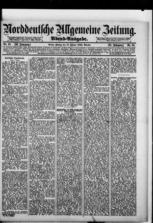 Norddeutsche allgemeine Zeitung vom 17.01.1896
