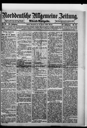 Norddeutsche allgemeine Zeitung vom 18.01.1896