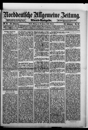 Norddeutsche allgemeine Zeitung vom 20.01.1896