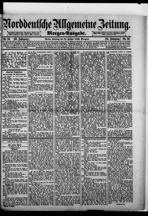 Norddeutsche allgemeine Zeitung vom 21.01.1896