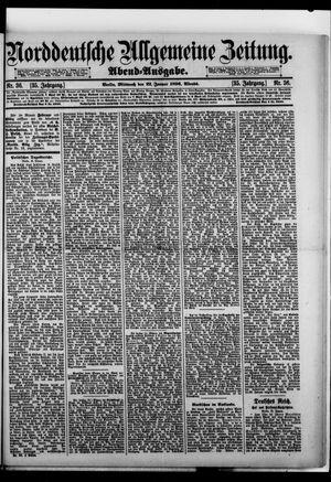Norddeutsche allgemeine Zeitung on Jan 22, 1896
