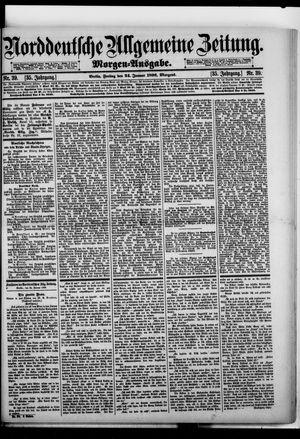 Norddeutsche allgemeine Zeitung vom 24.01.1896