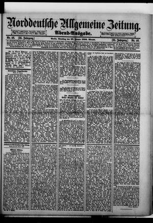Norddeutsche allgemeine Zeitung on Jan 28, 1896