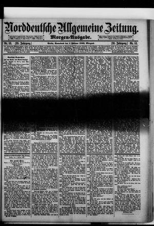 Norddeutsche allgemeine Zeitung vom 01.02.1896