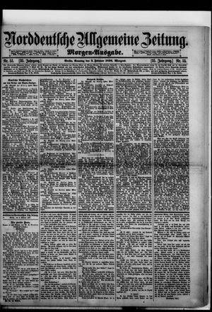 Norddeutsche allgemeine Zeitung vom 02.02.1896