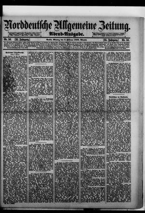 Norddeutsche allgemeine Zeitung vom 03.02.1896