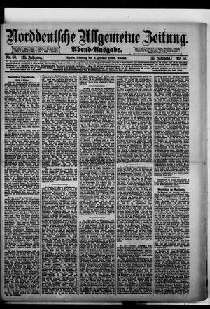 Norddeutsche allgemeine Zeitung vom 04.02.1896