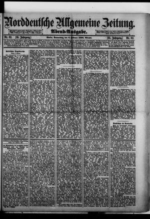 Norddeutsche allgemeine Zeitung vom 06.02.1896