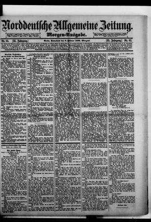 Norddeutsche allgemeine Zeitung vom 08.02.1896