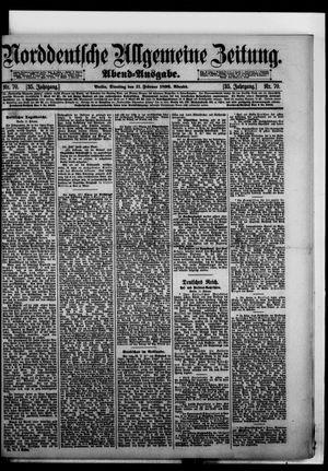 Norddeutsche allgemeine Zeitung vom 11.02.1896