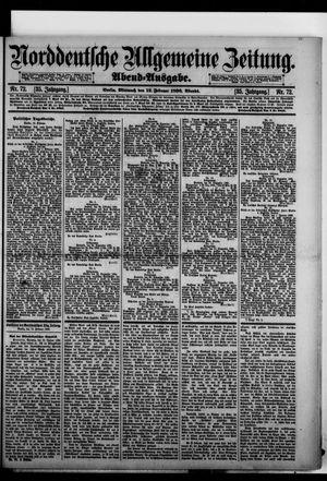 Norddeutsche allgemeine Zeitung vom 12.02.1896