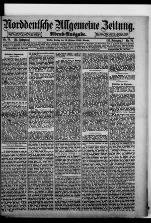 Norddeutsche allgemeine Zeitung vom 14.02.1896