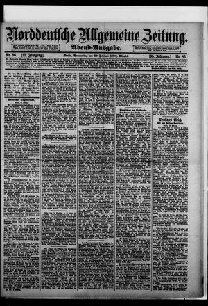 Norddeutsche allgemeine Zeitung on Feb 20, 1896