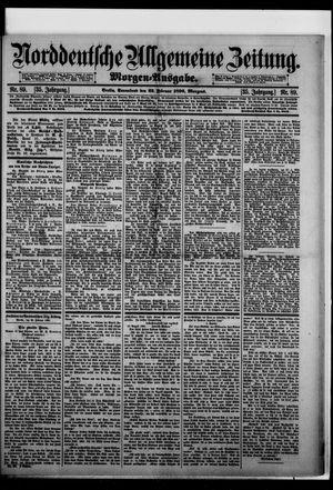 Norddeutsche allgemeine Zeitung vom 22.02.1896