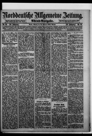 Norddeutsche allgemeine Zeitung vom 24.02.1896