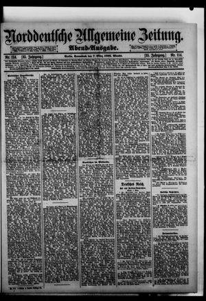 Norddeutsche allgemeine Zeitung vom 07.03.1896