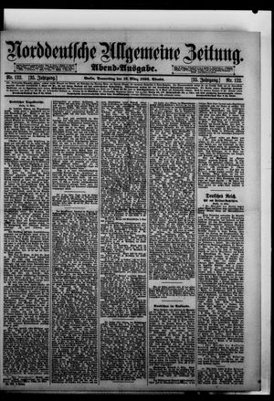 Norddeutsche allgemeine Zeitung vom 12.03.1896