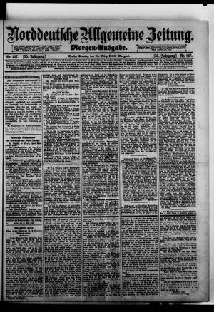 Norddeutsche allgemeine Zeitung vom 15.03.1896