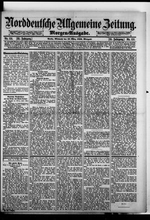 Norddeutsche allgemeine Zeitung on Mar 18, 1896