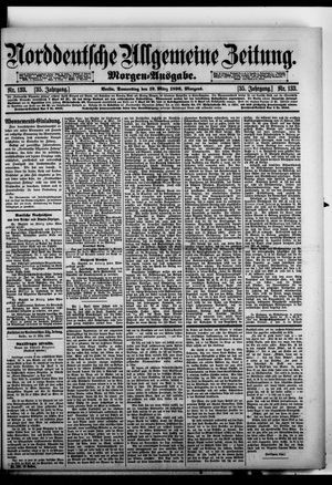 Norddeutsche allgemeine Zeitung vom 19.03.1896