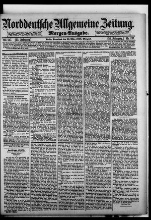 Norddeutsche allgemeine Zeitung vom 21.03.1896