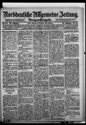 Norddeutsche allgemeine Zeitung vom 25.03.1896
