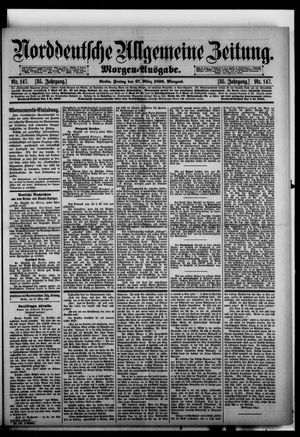 Norddeutsche allgemeine Zeitung vom 27.03.1896