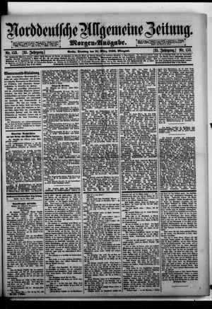 Norddeutsche allgemeine Zeitung vom 31.03.1896