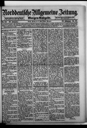 Norddeutsche allgemeine Zeitung on Apr 3, 1896