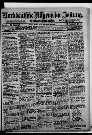 Norddeutsche allgemeine Zeitung on Apr 5, 1896