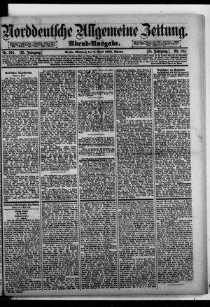 Norddeutsche allgemeine Zeitung vom 08.04.1896