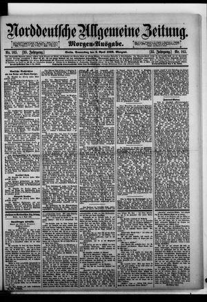 Norddeutsche allgemeine Zeitung vom 09.04.1896