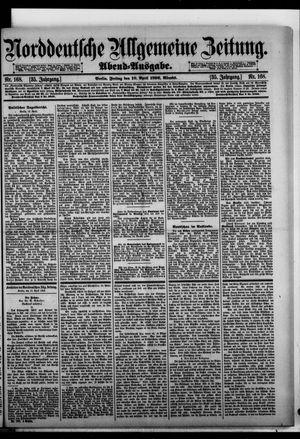 Norddeutsche allgemeine Zeitung vom 10.04.1896