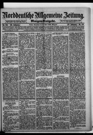 Norddeutsche allgemeine Zeitung vom 11.04.1896