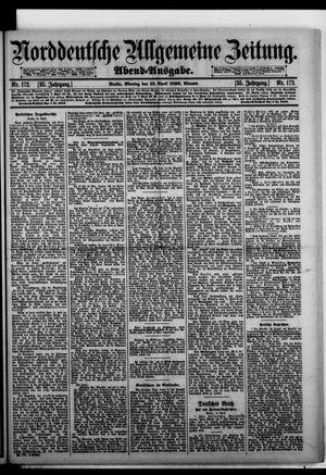 Norddeutsche allgemeine Zeitung vom 13.04.1896