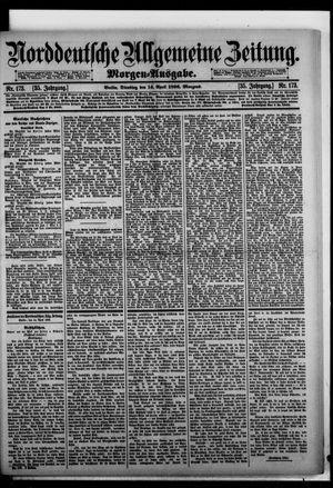 Norddeutsche allgemeine Zeitung vom 14.04.1896