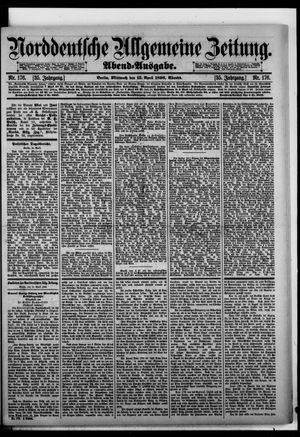 Norddeutsche allgemeine Zeitung vom 15.04.1896