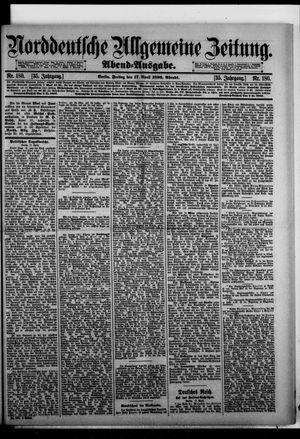 Norddeutsche allgemeine Zeitung vom 17.04.1896