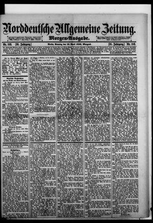 Norddeutsche allgemeine Zeitung vom 19.04.1896
