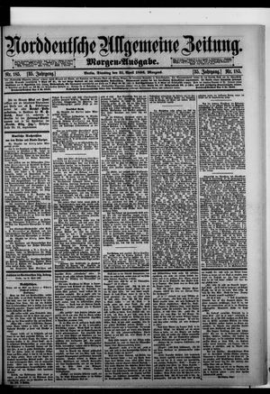 Norddeutsche allgemeine Zeitung vom 21.04.1896