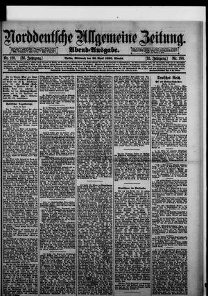 Norddeutsche allgemeine Zeitung vom 22.04.1896