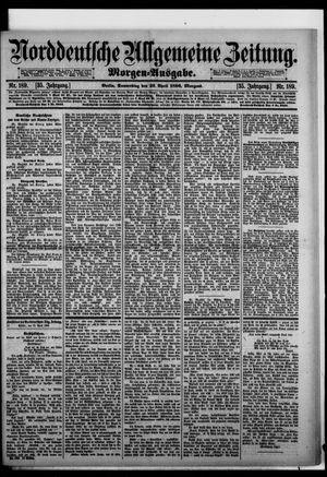 Norddeutsche allgemeine Zeitung vom 23.04.1896