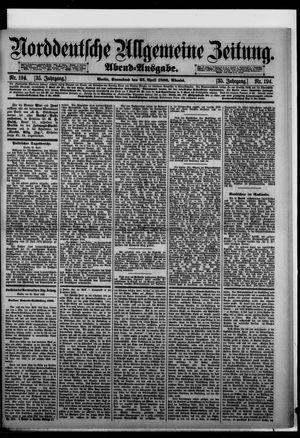 Norddeutsche allgemeine Zeitung vom 25.04.1896
