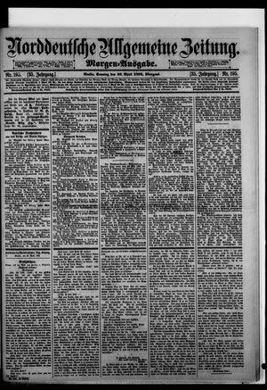 Norddeutsche allgemeine Zeitung vom 26.04.1896